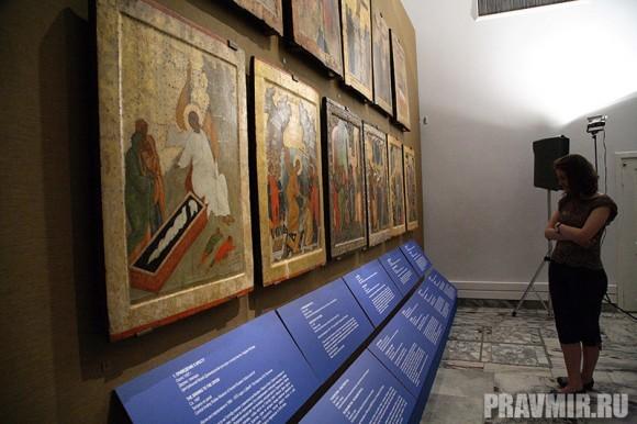 Иконостас Кирилло-Белозерского монастыря в Кремле. Фото Ксении Прониной (15)