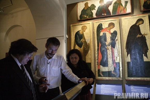 Иконостас Кирилло-Белозерского монастыря в Кремле. Фото Ксении Прониной (16)