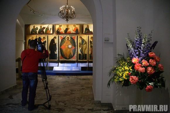 Иконостас Кирилло-Белозерского монастыря в Кремле. Фото Ксении Прониной (24)