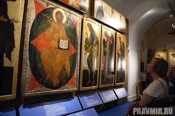 Иконостас Кирилло-Белозерского монастыря в Кремле. Фото Ксении Прониной (27)