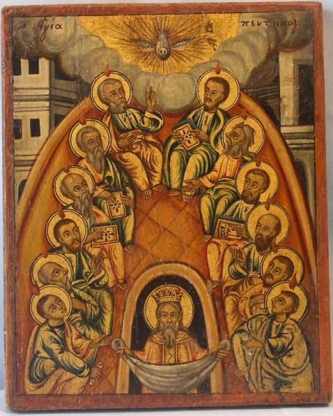 Греческая икона 1790-1840