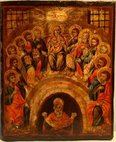 Греческая икона 1840-1870