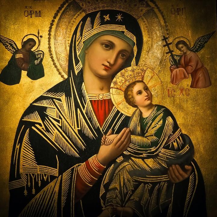 Русская Православная Церковь. Икона Богородицы