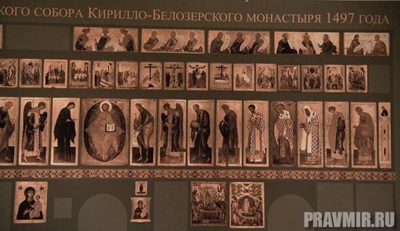 Иконостас Кирилло-Белозерского монастыря в Кремле. Фото Ксении Прониной (49)
