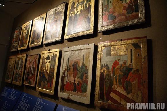 Иконостас Кирилло-Белозерского монастыря в Кремле. Фото Ксении Прониной (51)