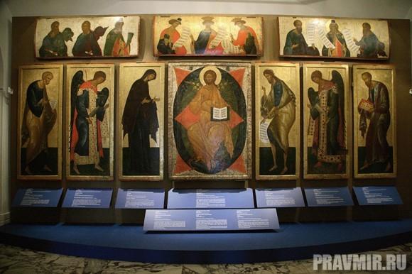 Иконостас Кирилло-Белозерского монастыря в Кремле. Фото Ксении Прониной (59)