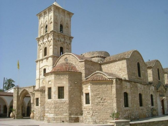 Кипр. Церковь Святого Лазаря в городе Ларнаке