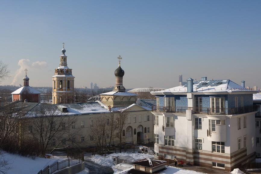 монастыри Москвы - Андреевский