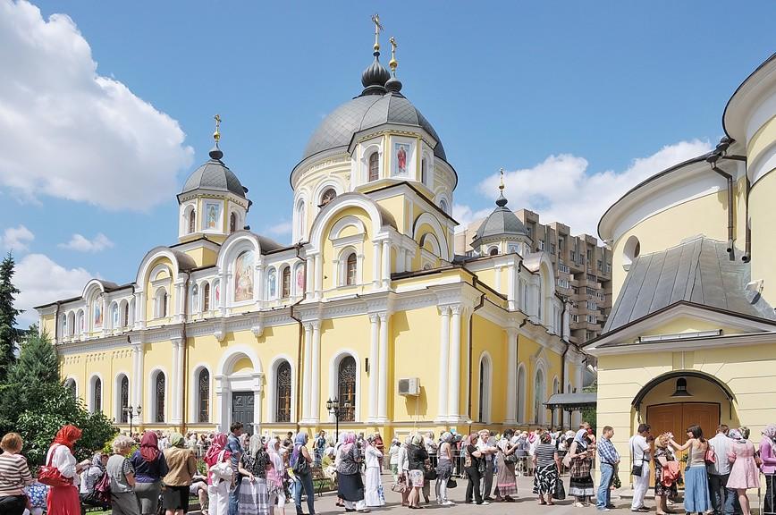 монастыри Москвы - Покровский