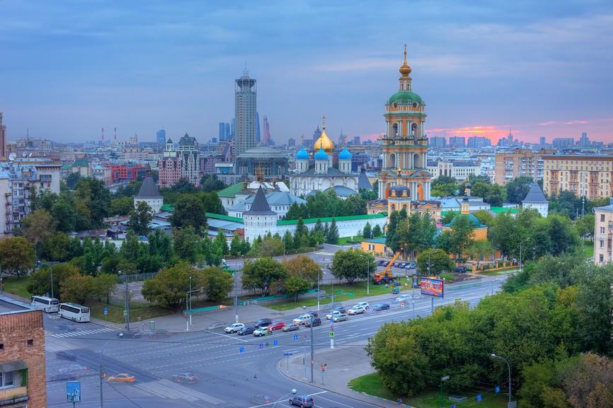 монастыри Москвы - Новоспасский