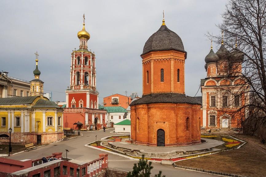 монастыри Москвы - Высоко-Петровский
