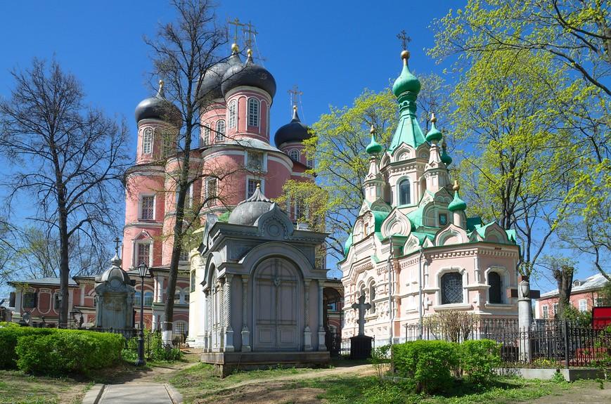 Монастыри Москвы - Донской