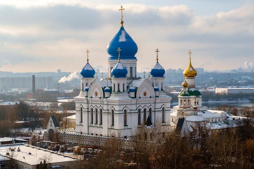 монастыри Москвы - Николо-Перервинский