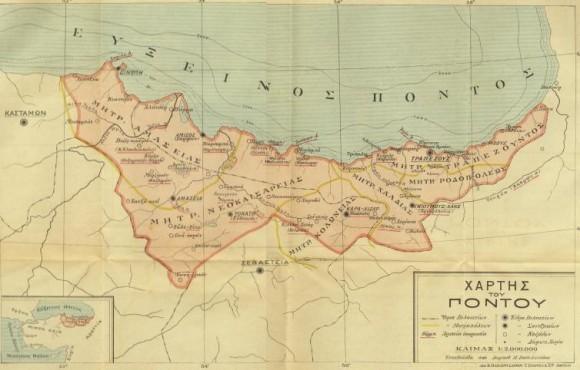 Карта Понта
