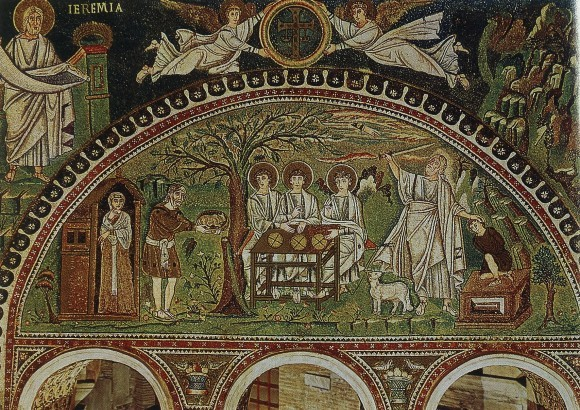 мозаика церкви Сан Витале, 546-547гг., Равенна