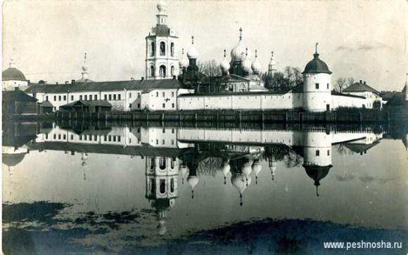 Николо-Пешношский монастырь в конце XIX века