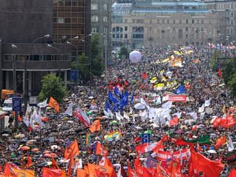 Митинг на проспекте Сахарова. Фото РИА Новости, Александр Кожохин