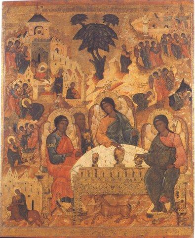Святая Троица. Икона 18 в