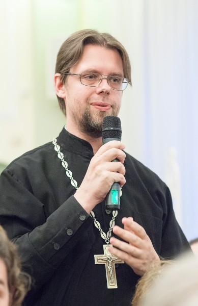 Священник Филипп Парфенов