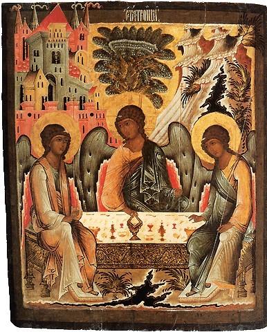 Троица Ветхозаветная Ветхозаветная. XVII век