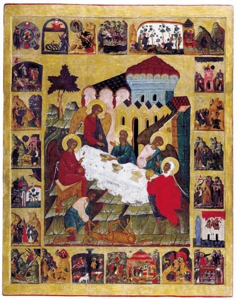 Св. Троица в Бытии. 1580-е гг.