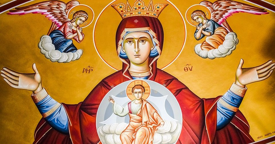 Непорочная Дева Мария: житие