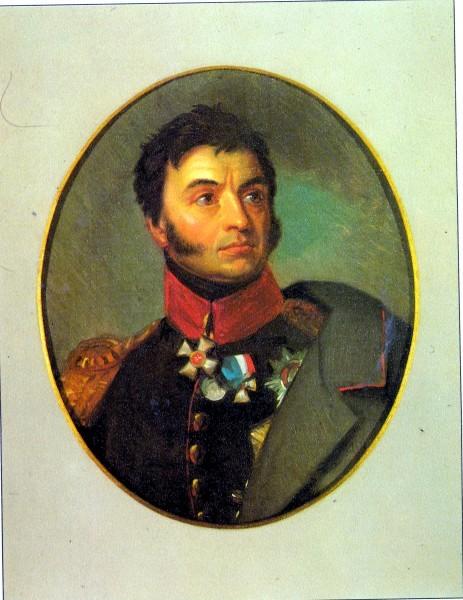 Н.Н.Раевский - копия с портрета Д.Доу