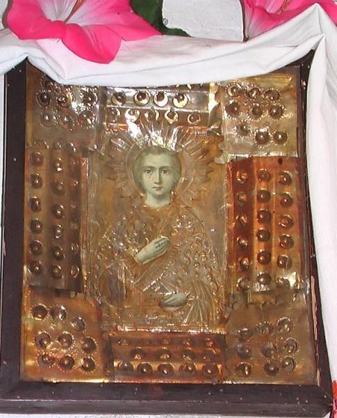 Андрияшевская икона св. вмч. Пантелеимона