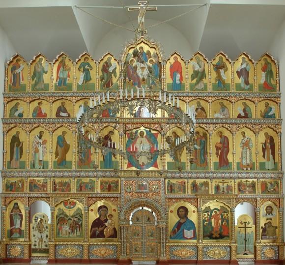 Иконостас Воскресенского храма