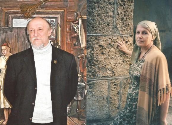 Сергей и Ольга Харламовы