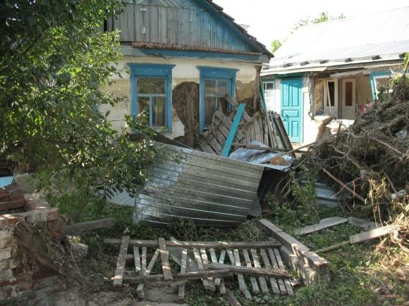 Этот дом стоял в воде до верхнего края окон