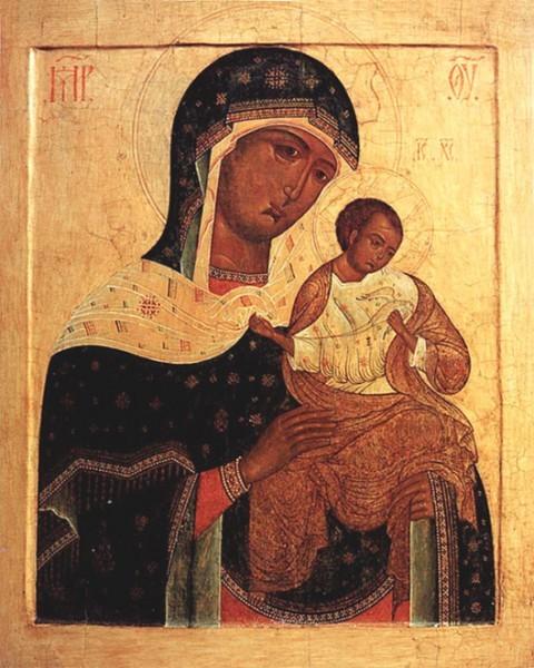 Коневская Голубицкая икона Божией Матери