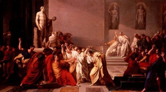Смерть Цезаря. Винченцо Камуччини. 1798 г