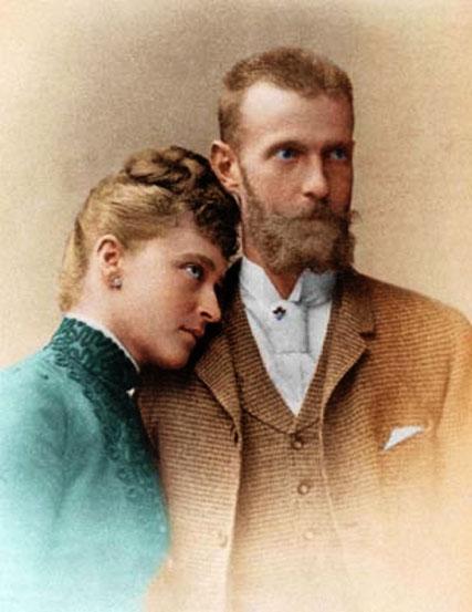 Благочествые супруги - Великий Князь Сергий Александрович и Великая Княгиня Елизавета Федоровна