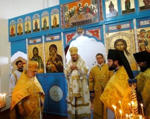 Протоиерей Максим Козлов в гостях у настоятеля священника Алексия Ястребова
