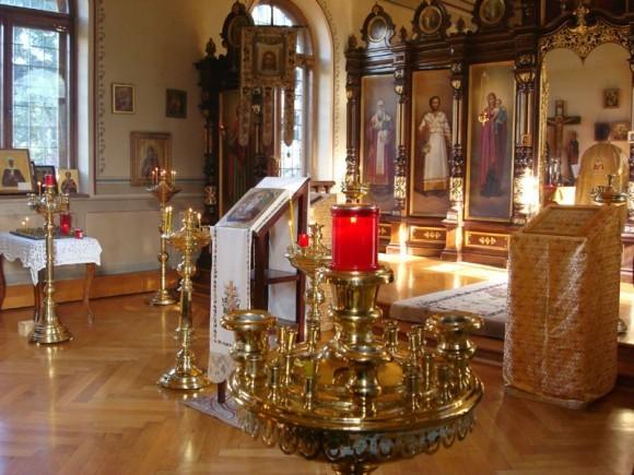 Интерьер Никольского собора в Мерано