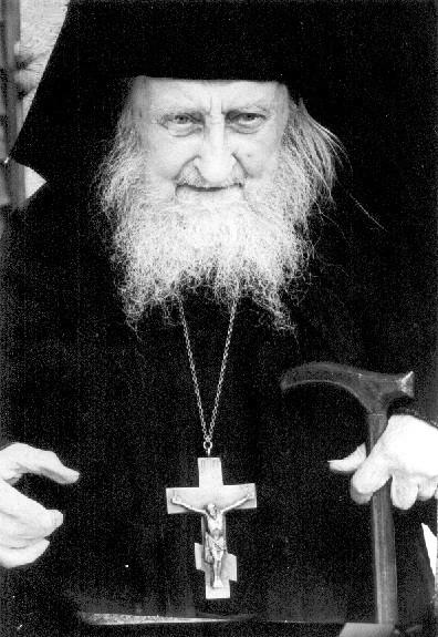 Архимандрит Софроний (Сахаров). Фото из архива Павла Бусалаева