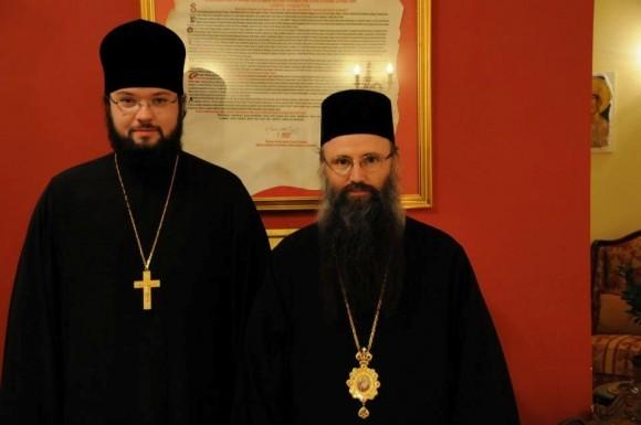 Иеромонах Антоний (Севрюк) и Епископ Силуан (Шпан)