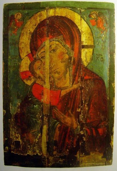 Федоровская Страстная, XIII век  Владимирская икона