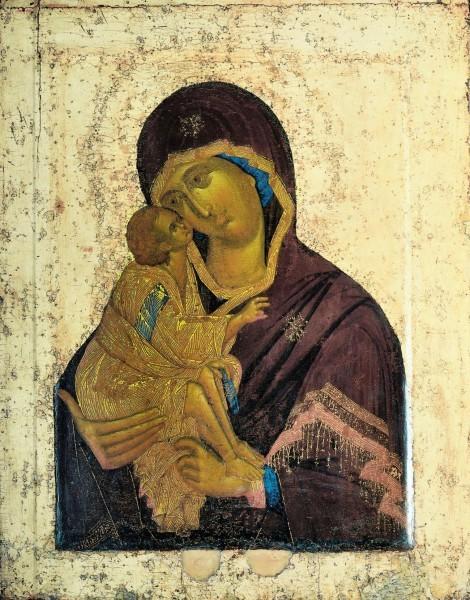 Донская икона, Феофан Грек, ок. 1392