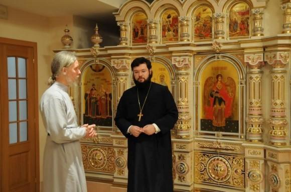 Архиепископ Вологодский и Великоустюжский Максимилиан – гость Екатерининского храма