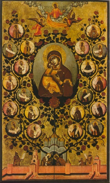 Древо Государства Российского, Симон Ушаков, XVII век