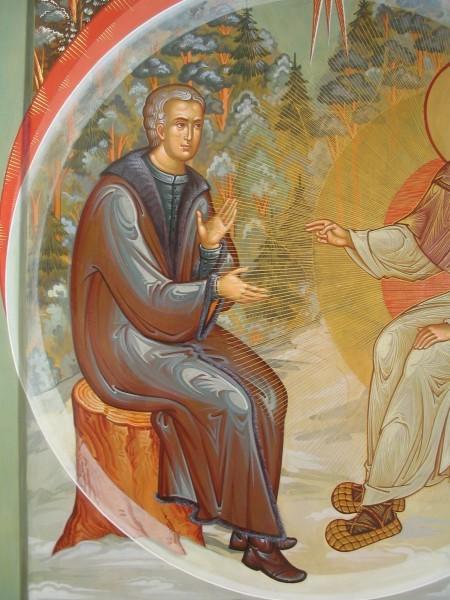 Явление Духа Святого. Работа Павла Бусалаева