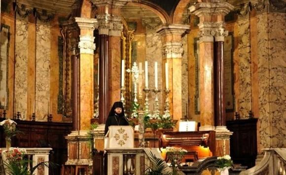 В храме святой Пракседы. Слово перед концертом по случаю семинара русских славистов в Риме