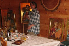 Павел Бусалаев: Быть иконописцем – лучшая возможность для художника в этом мире (+ФОТО)