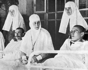 Елисавета Феодоровна в лазарете