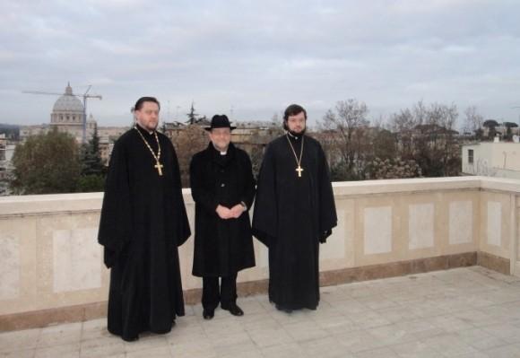 Визит католического епископа в Екатерининский храм