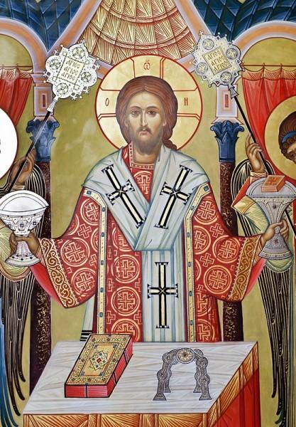 Икона работы Павла Бусалаева. Фото Анны Гальпериной