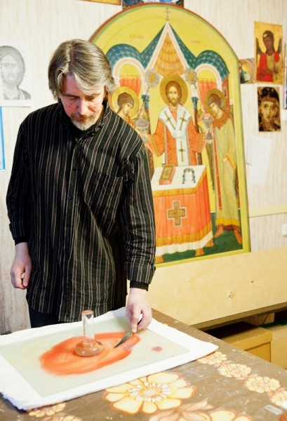 Павел Бусалаев. Фото Анны Гальпериной