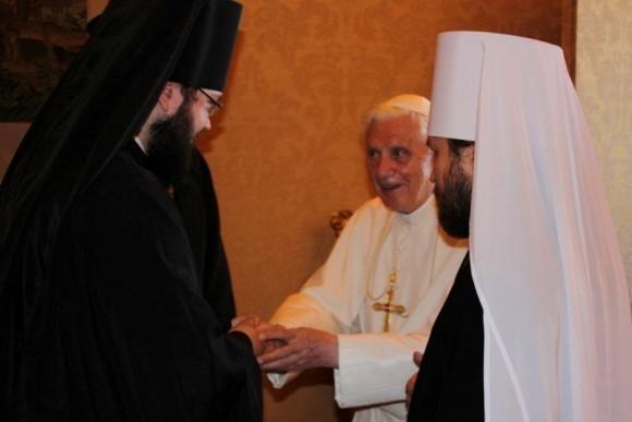 Встреча с Римским Папой Бенедиктом XVI